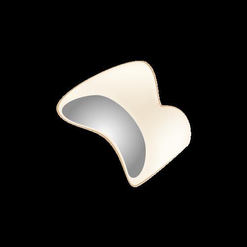 岡山県岡山市北区の歯医者 たんじフレンド歯科 審美治療科 メタルボンドポーセレン