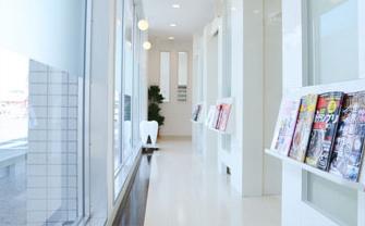 岡山県岡山市北区の歯医者 たんじフレンド歯科 通路